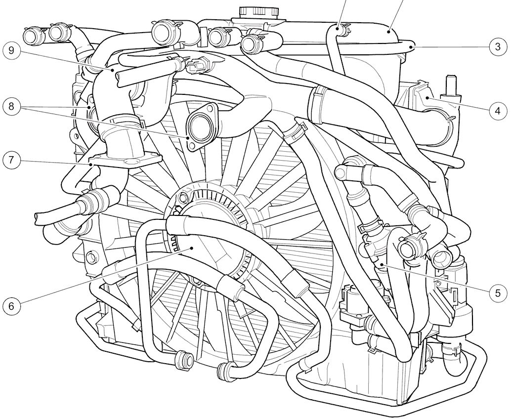 Jaguar s type 4 0 v8 engine diagram on 2004 mazda 6 timing chain marks
