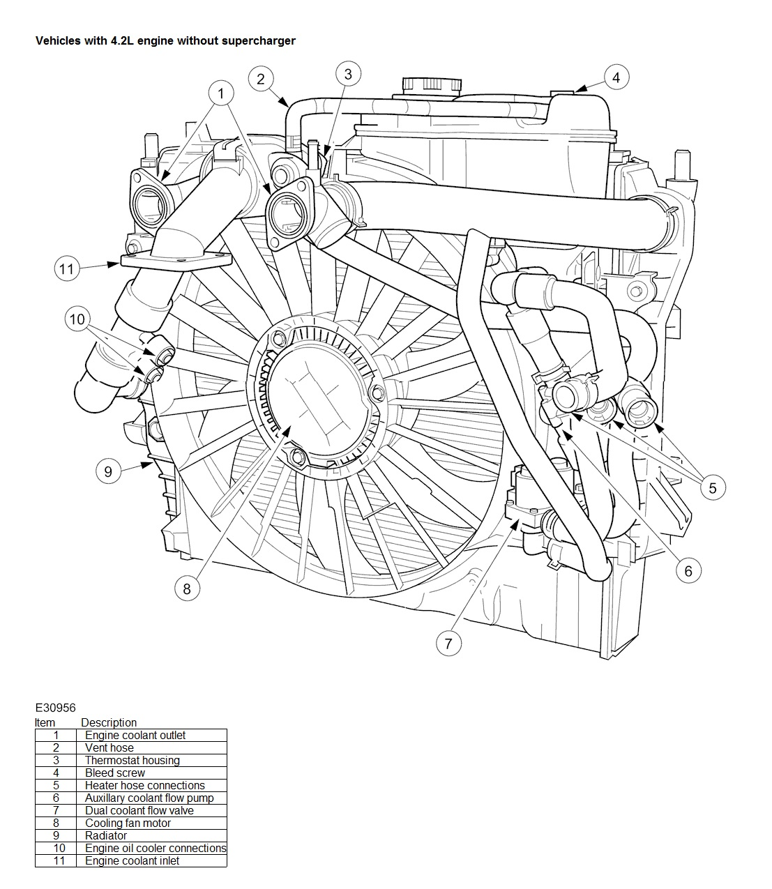 Jaguar V8 Hoses Diagrams