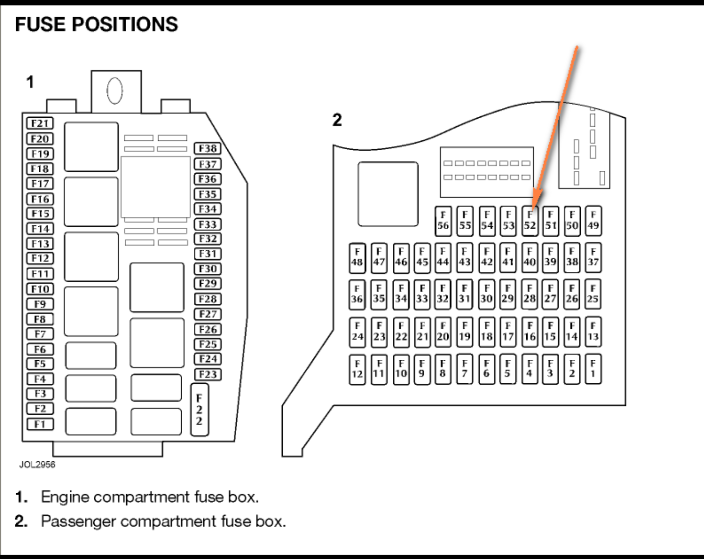 Jaguar Xf Fuse Box Diagram