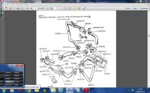 wiring schematic 198586 Series 3 Extra Air Valve  Jaguar