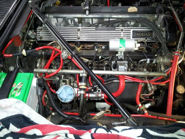 Vacuum line replacement pics :: In glorious technicolour