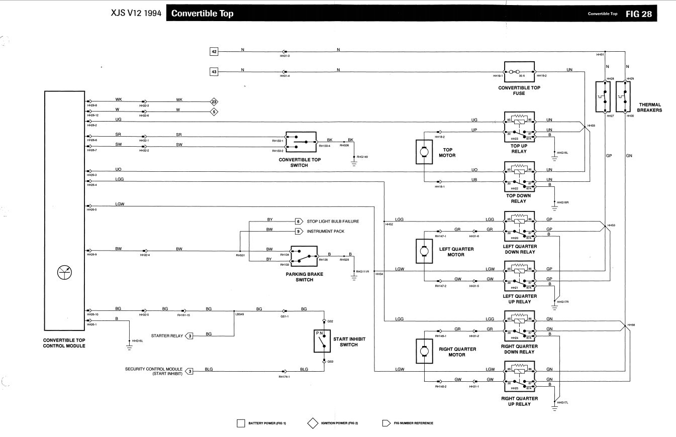 1989 Jaguar Xjs Alternator Wiring Diagram