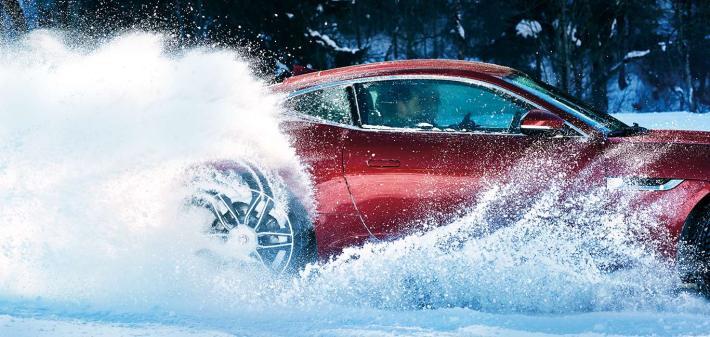 jaguar ice driving experience