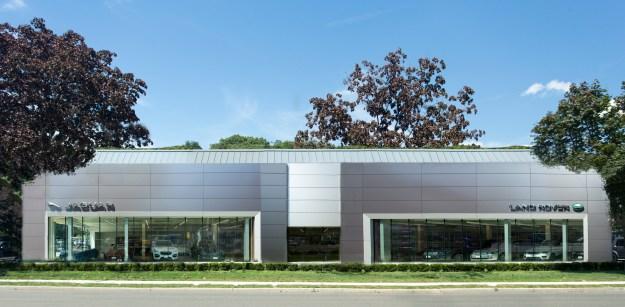 Jaguar/Land Rover–Darien CT. Location