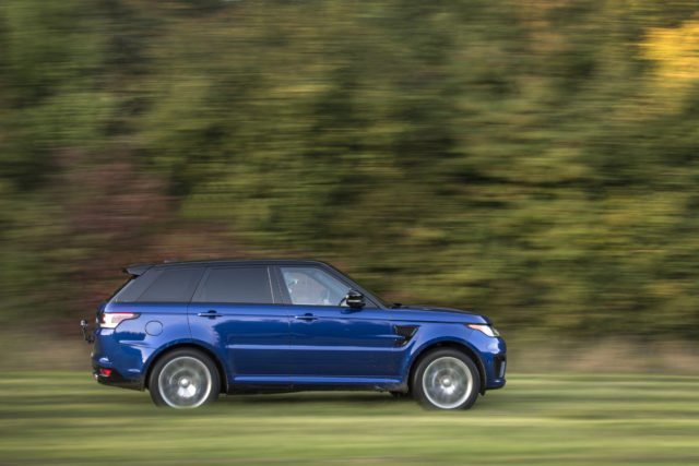 jaguarforum.com Range Rover Sport SVR 0-60 0-100 test all terrain