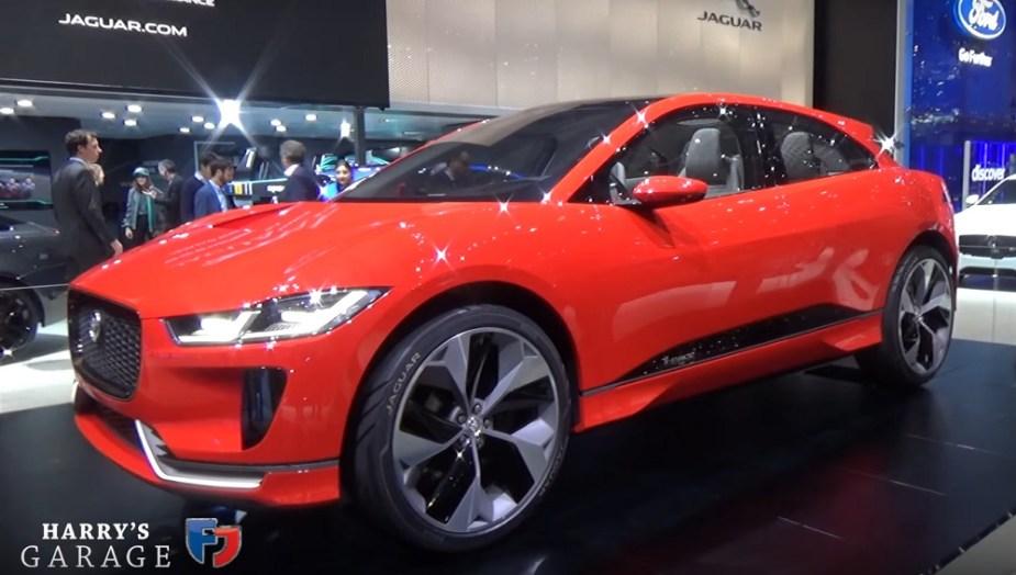 jaguarforums.com jaguar land rover geneva motorshow auto show I-PACE Discovery
