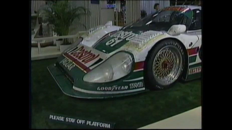 Jaguarforums.com 1990 Jaguar XJR-12 XJR-12D Daytona winner Lemans race car