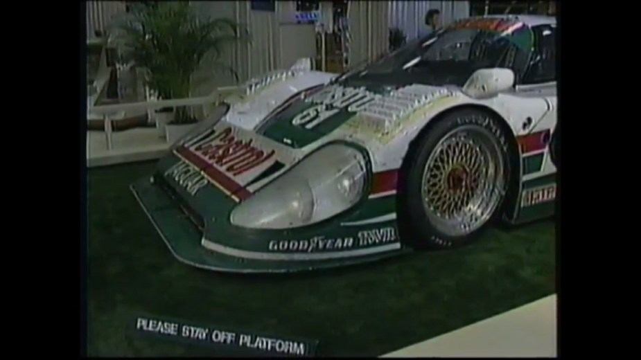 Jaguarforums.com 1990 Jaguar XJR-12 XJR-12D Daytona winner Lemans race car