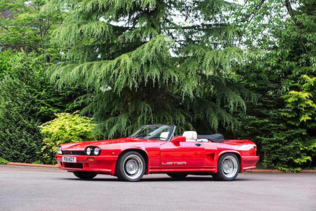 Jaguarforums.com Lister Jaguar XJS V12 Bonhams auction
