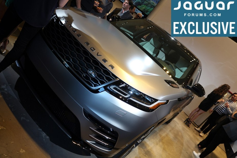 Jaguarforums.com Jaguarforums Jaguar Land Rover Velar 2018 Details Info Hollywood Unveil Los Angeles