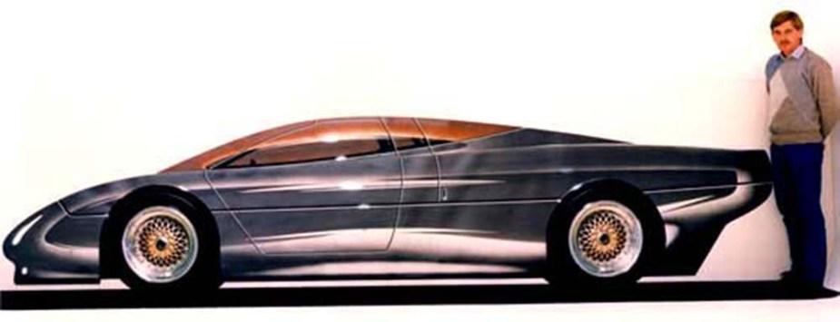 jaguarforums.com Cliff Ruddell Jaguar Styling Exercise Concept Artist