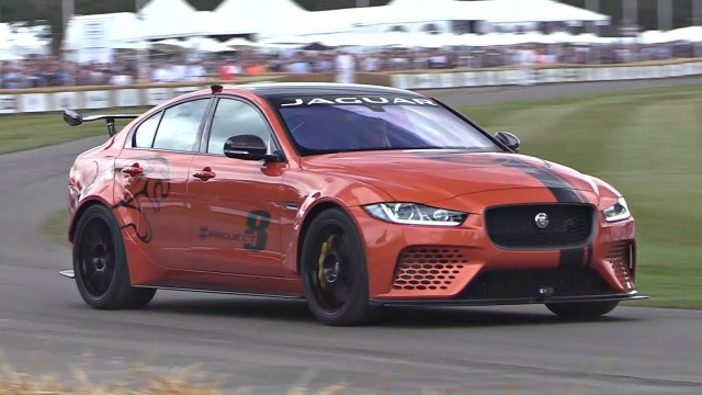 Jaguarforums.com Jaguar XE SV Project 8 Goodwood Hill Climb International Debut