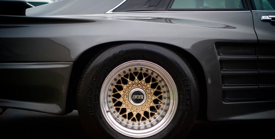Koenig Specials Jaguar on BBS wheels