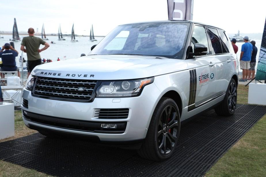 JaguarForums.com Land Rover Range Rover Td6 Extreme Sailing Series San Diego Land Rover BAR