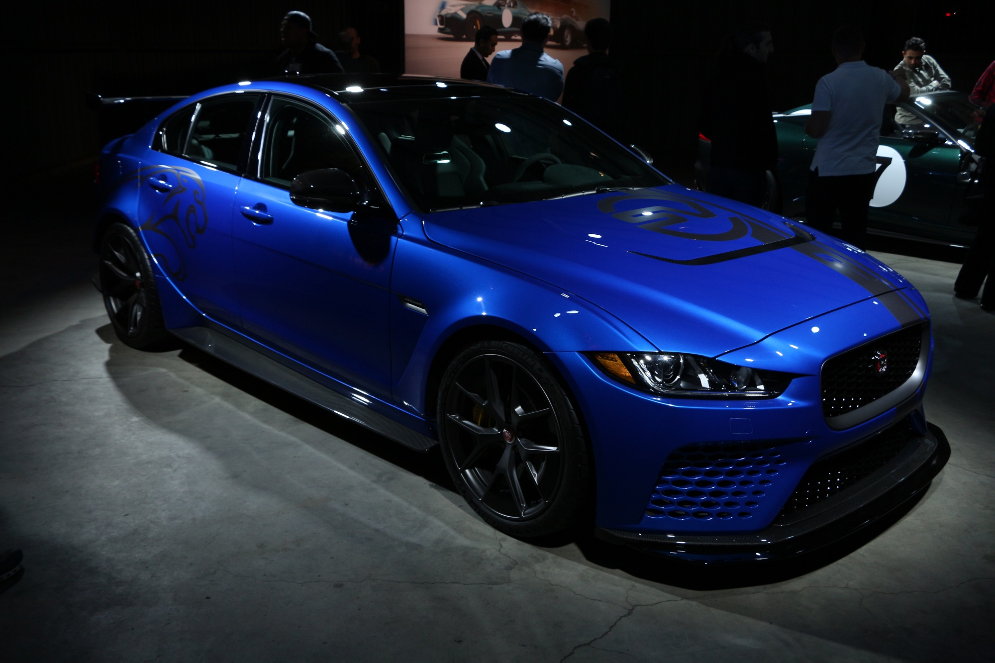 jaguarforums.com Jaguar SVO SV Project 7 XE Project 8 LA Los Angeles Auto Show 2017 2018
