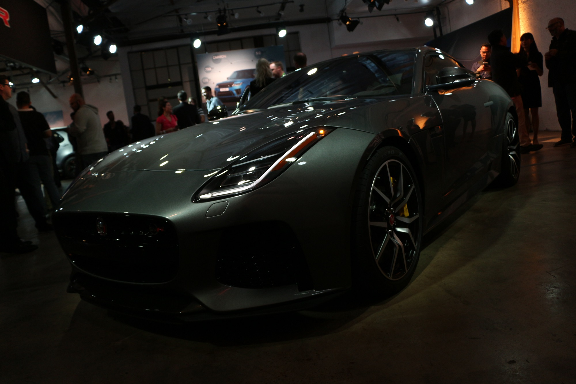 Jaguarforums.com F-Type R SVR LA Los Angeles Auto Show 2017 2018