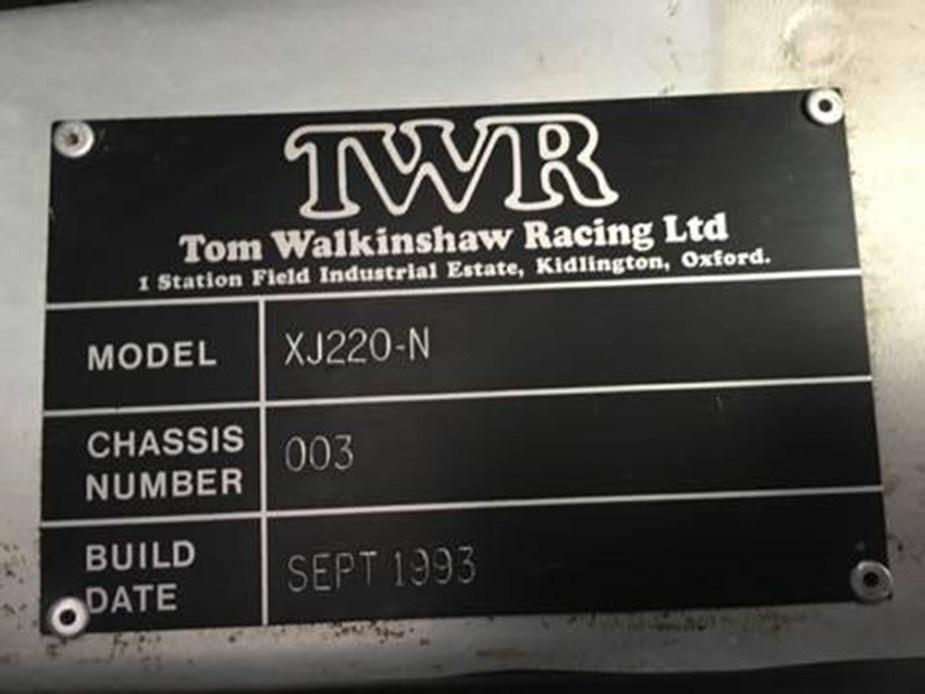 jaguarforums.com TWR Jaguar XJ220 S race car Tom Walkinshaw Racing