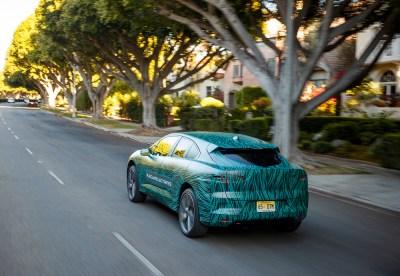 jaguarforums.com Jaguar I-PACE Concept electric road trip