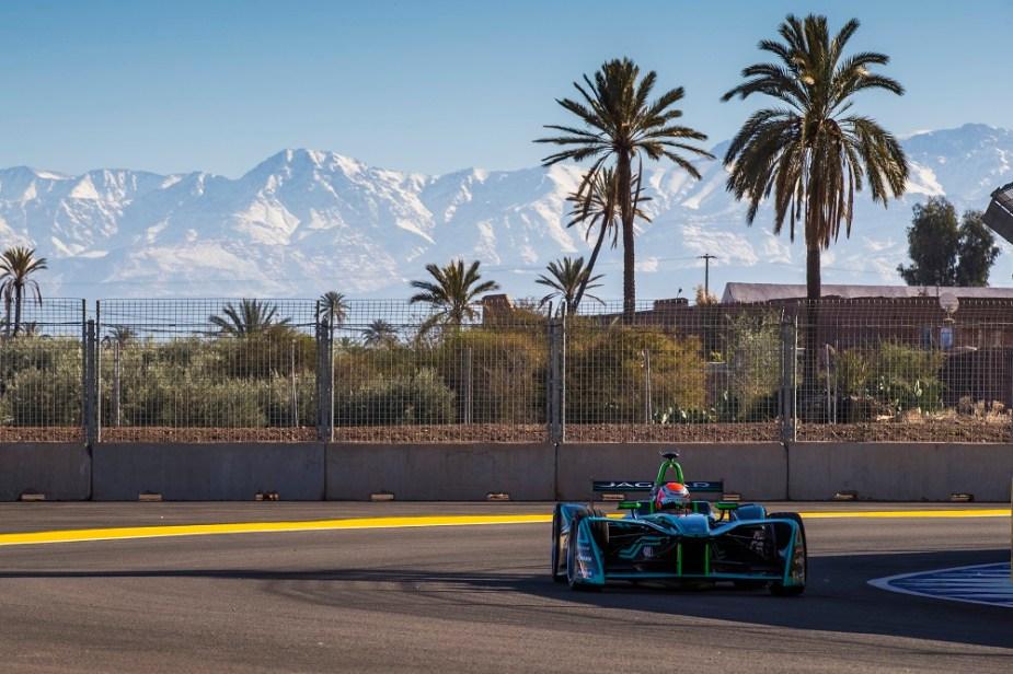2017 - 2018 Jaguar I-Type Formula E