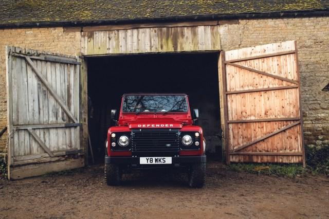 jaguarforums.com Land Rover Defender Works V8
