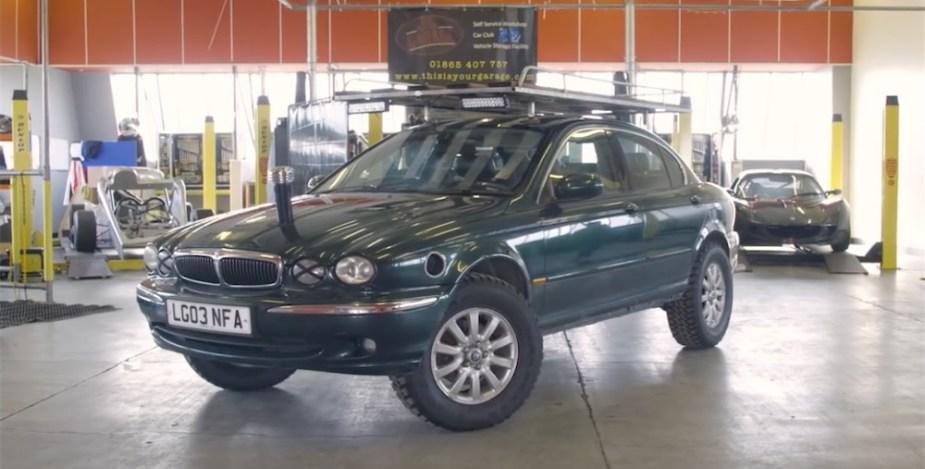 Off road Jaguar welded differential