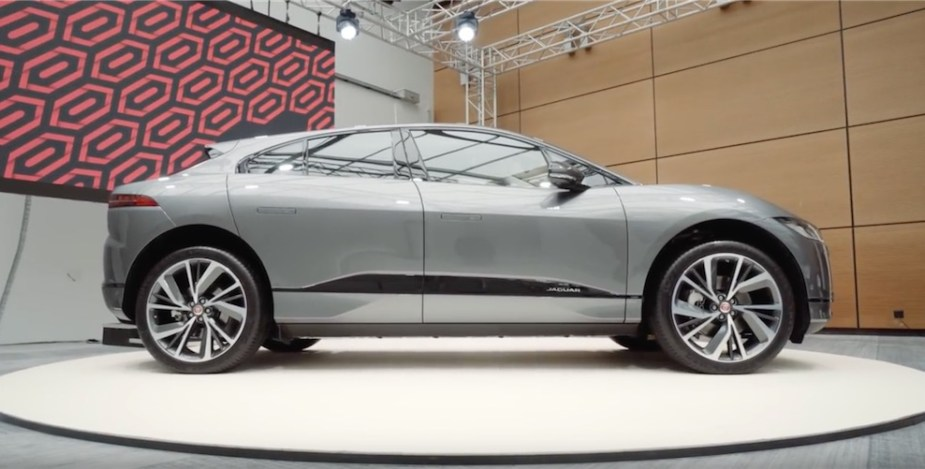 I-Pace is Jaguar's first electric vehicle.