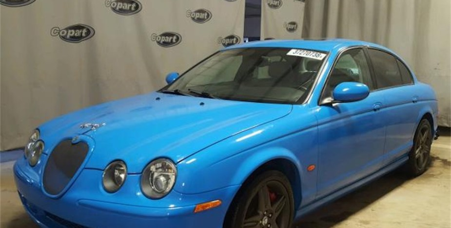 Jaguar S-Type R with Nitrous is Just Silly