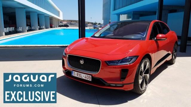 Jaguarforums.com 2018 2019 Jaguar I-PACE EV Electric Vehicle Review News Drive