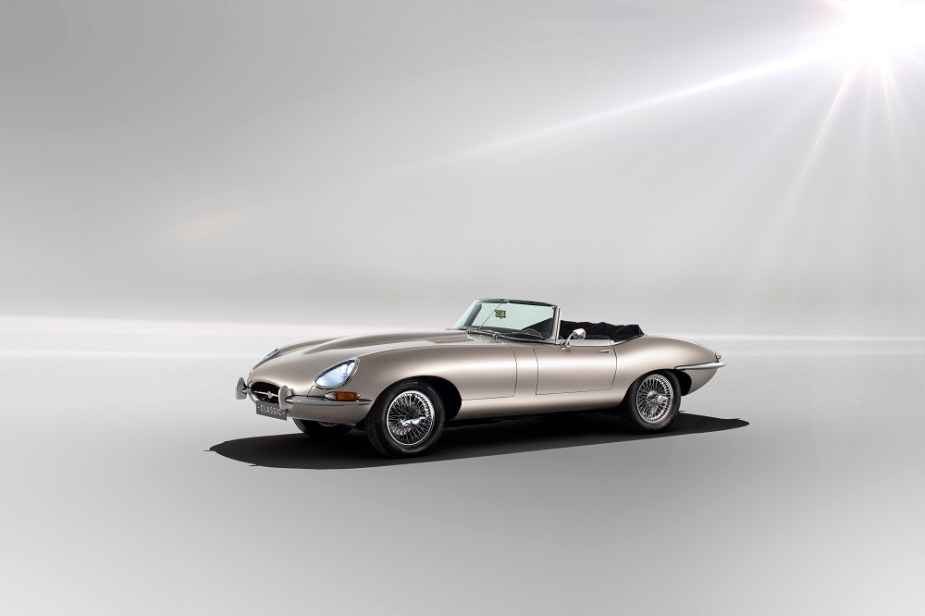 Jaguar Classic Announced E-Type Zero Emissions Electric Vehicle Conversion Officially Available to Order Jaguarforums.com