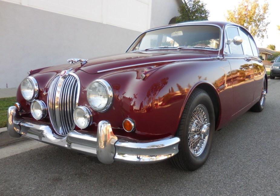 Jaguar Mk2 restoration