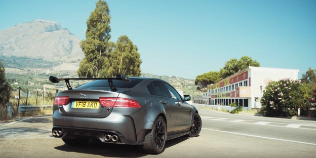 Carfection Drives the Targa Florio with the Jaguar XE SV Project 8