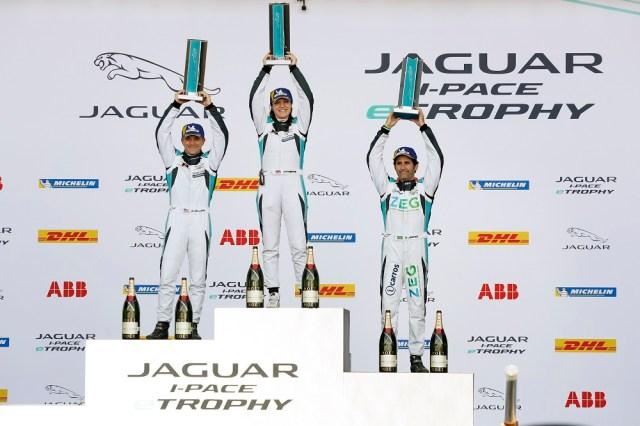 Katherine Legge Wins Jaguar I-PACE eTROPHY Mexico City 2019 FIA Formula E Race Jaguarforums.com