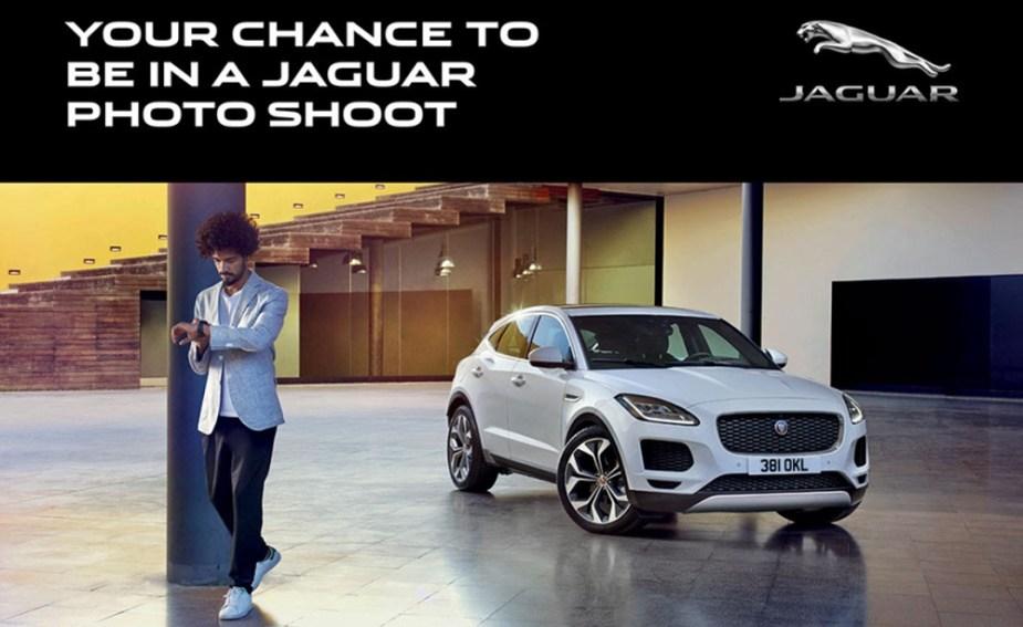 Jaguar New Faces Casting Flyer
