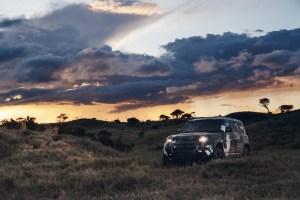 2020 Land Rover Defender Tusk Testing Borana Conservancy