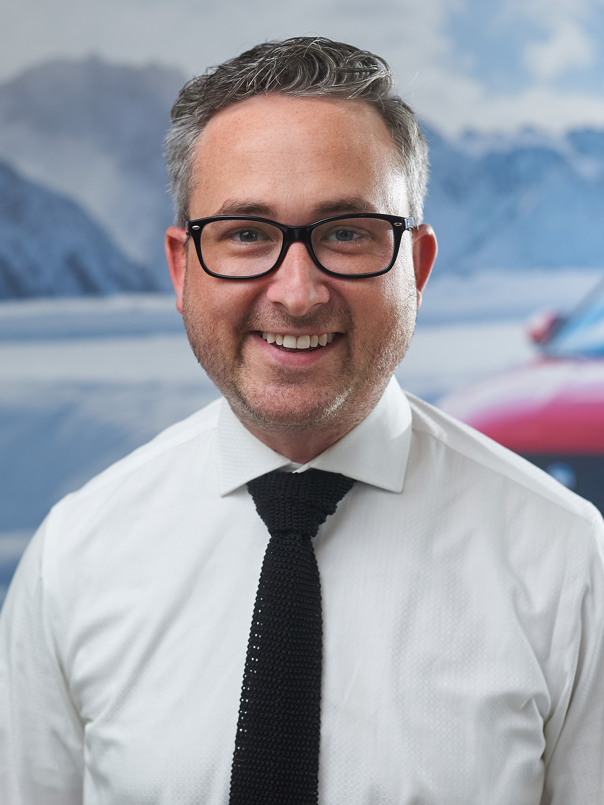 ANDREW CARTER - SALES MANAGER