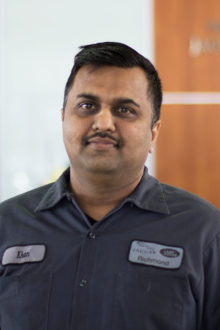 MOHAMMED KHAN - LAND ROVER TECHNICIAN