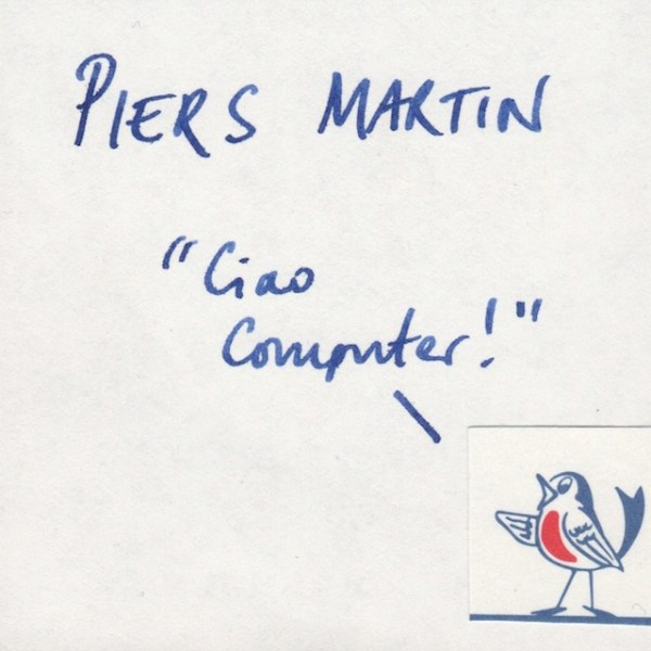 Mixtape #6: Ciao Computer by Piers Martin