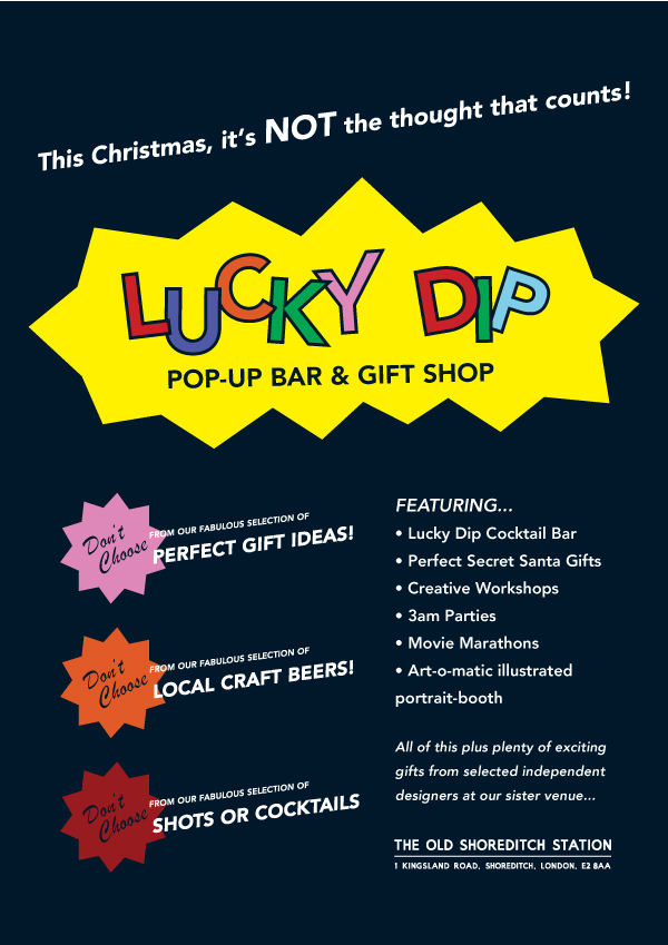 Shoreditch Station: Lucky Dip « JAGUARSHOES COLLECTIVE