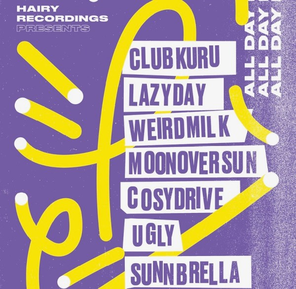 Hairy Recordings presents: The Victoria All-Dayer #2