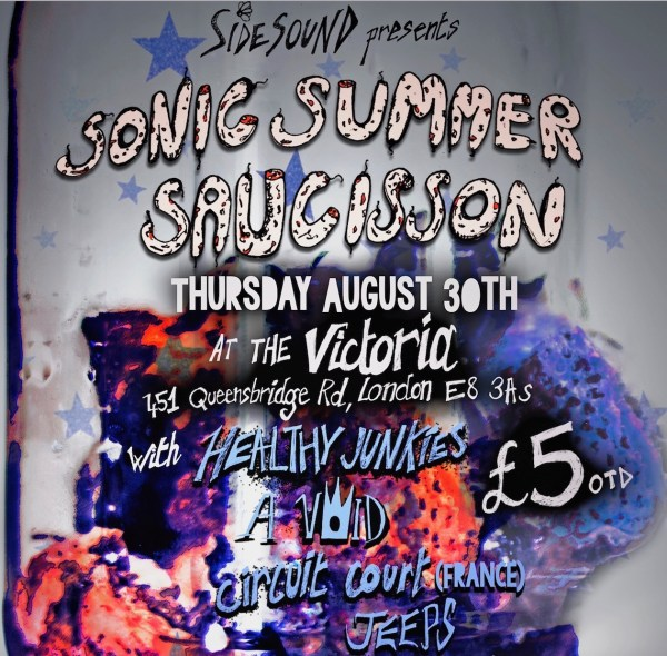 Sidesound presents SONIC Summer Saucisson