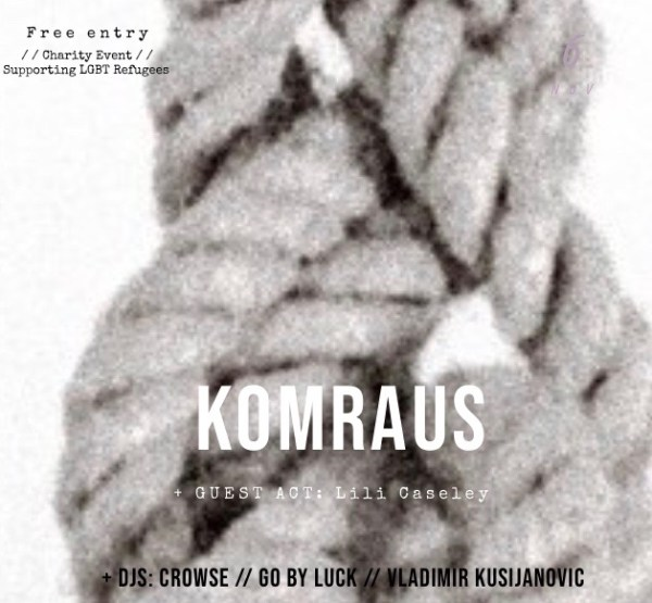 SMM presents Komraus and Guests – Live for Refugees