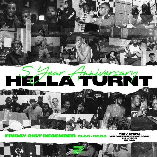 Hella Turnt Sounds – 5 years anniversary
