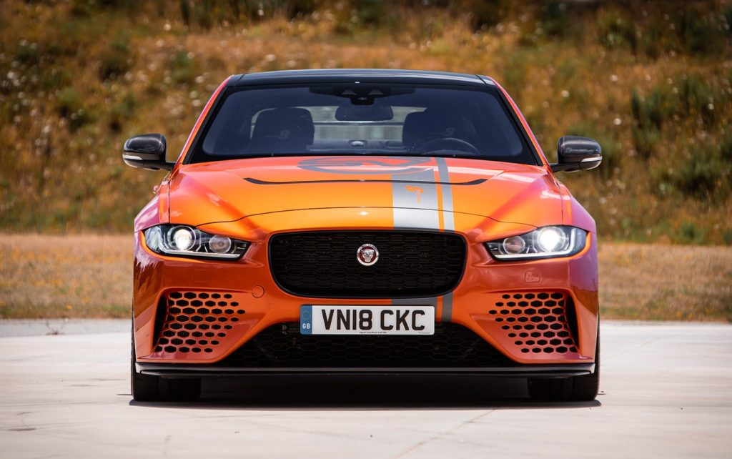Behind the wheel of the Jaguar XE SV Project 8