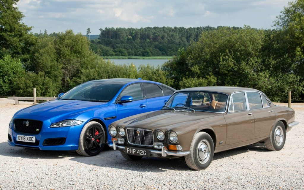 Jaguar XJ at 50: driving the 1968 original and the current model