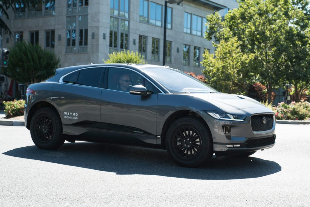 Waymo gets its first three Jaguar I-PACE electric SUVs