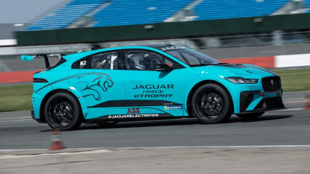 Jaguar I-PACE eTROPHY review: 395bhp EV racer tested