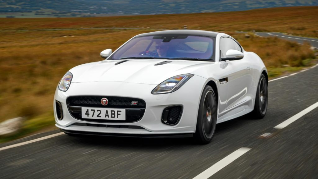 This is the 2020 Jaguar F-Type
