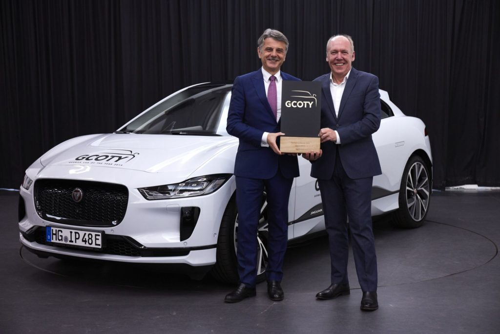 Jaguar I-PACE named Germany&#8217&#x3B;s Car of the Year