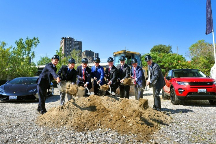 Grand Touring Automobiles Officially Breaks Ground