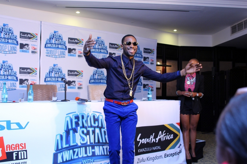Dbanj at the MTV Africa All Stars press conference (2)